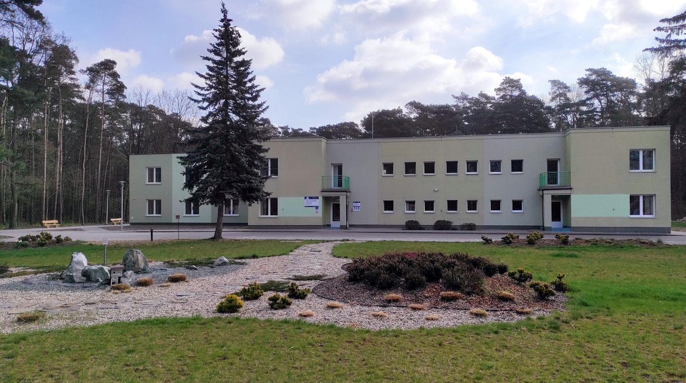 Budynek punktu szczepień